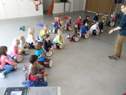 Muzisch atelier L3 - L6 Mariavreugde op maandagavond