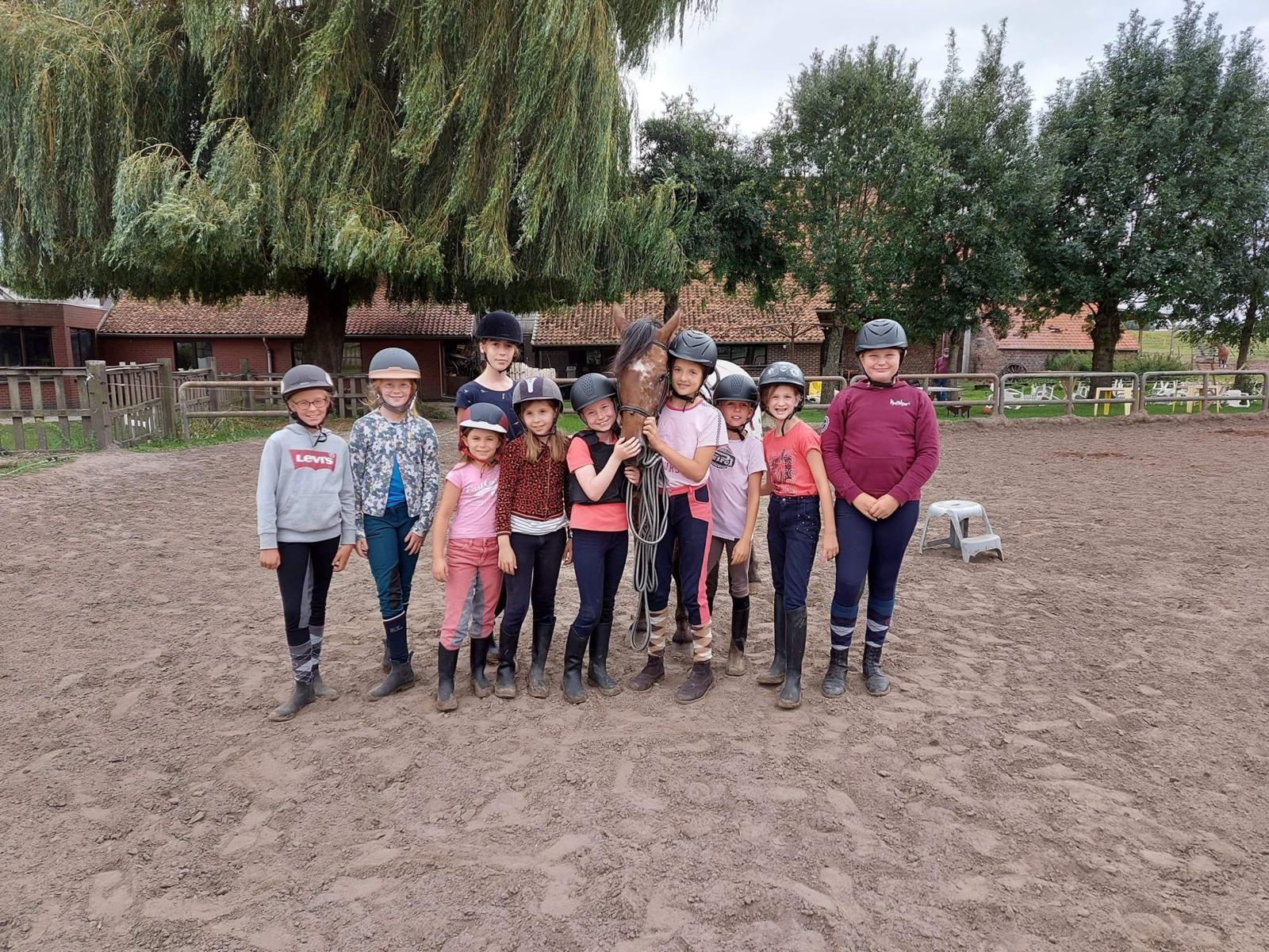 [2022] Paardrijden in het Pajottenland - Pasen - Kester