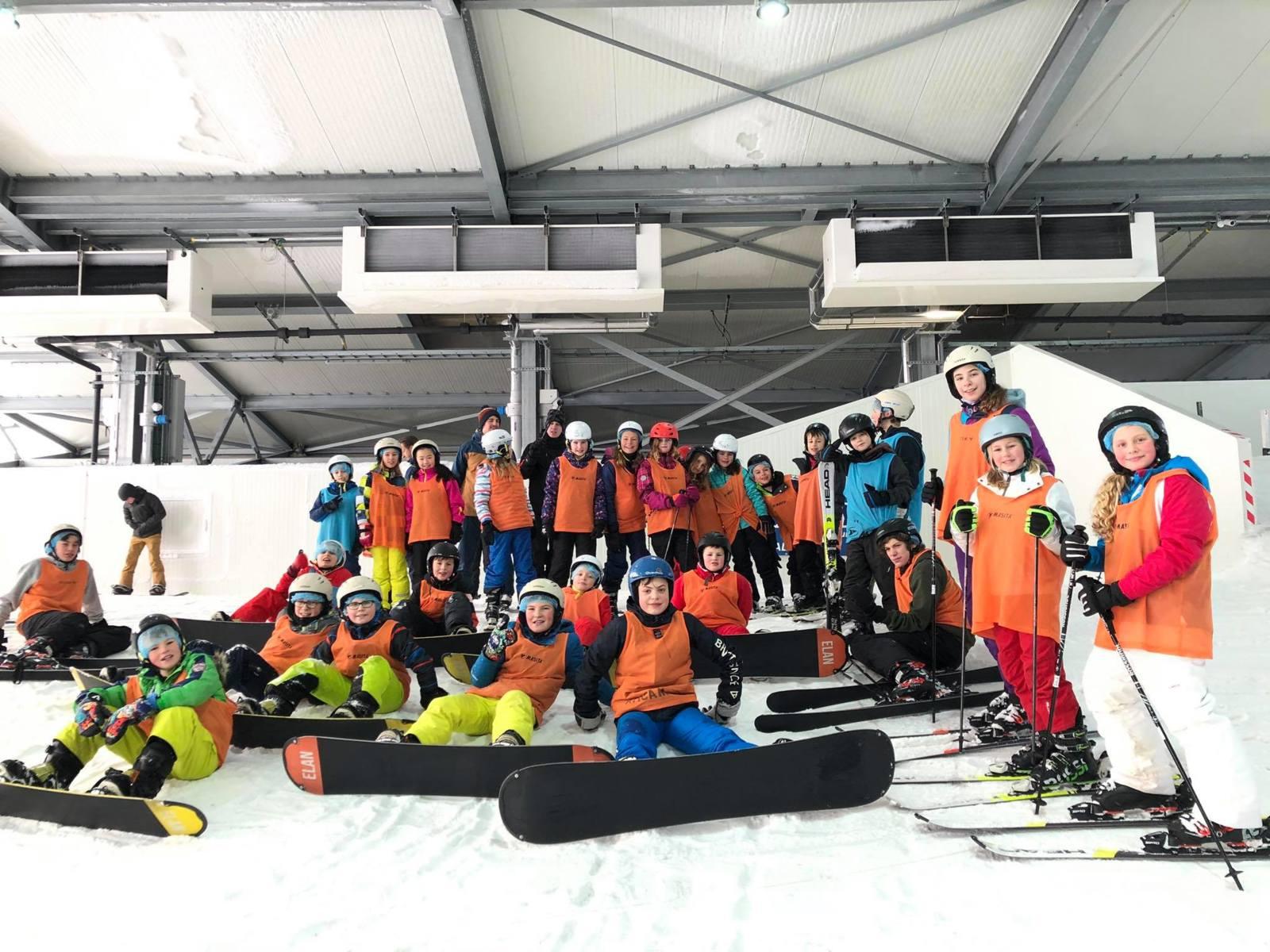 [2022] Indoor ski in Snowvalley - Krokus - Peer