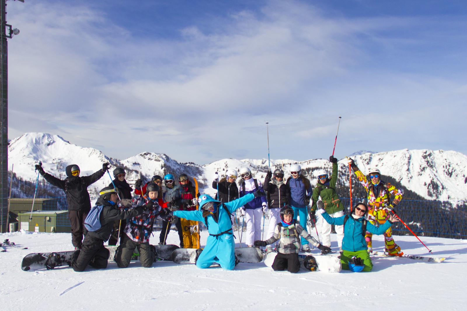 [2022] Snowboarden in uitdagend skigebied - Krokus - Radstadt (Simonyhof)