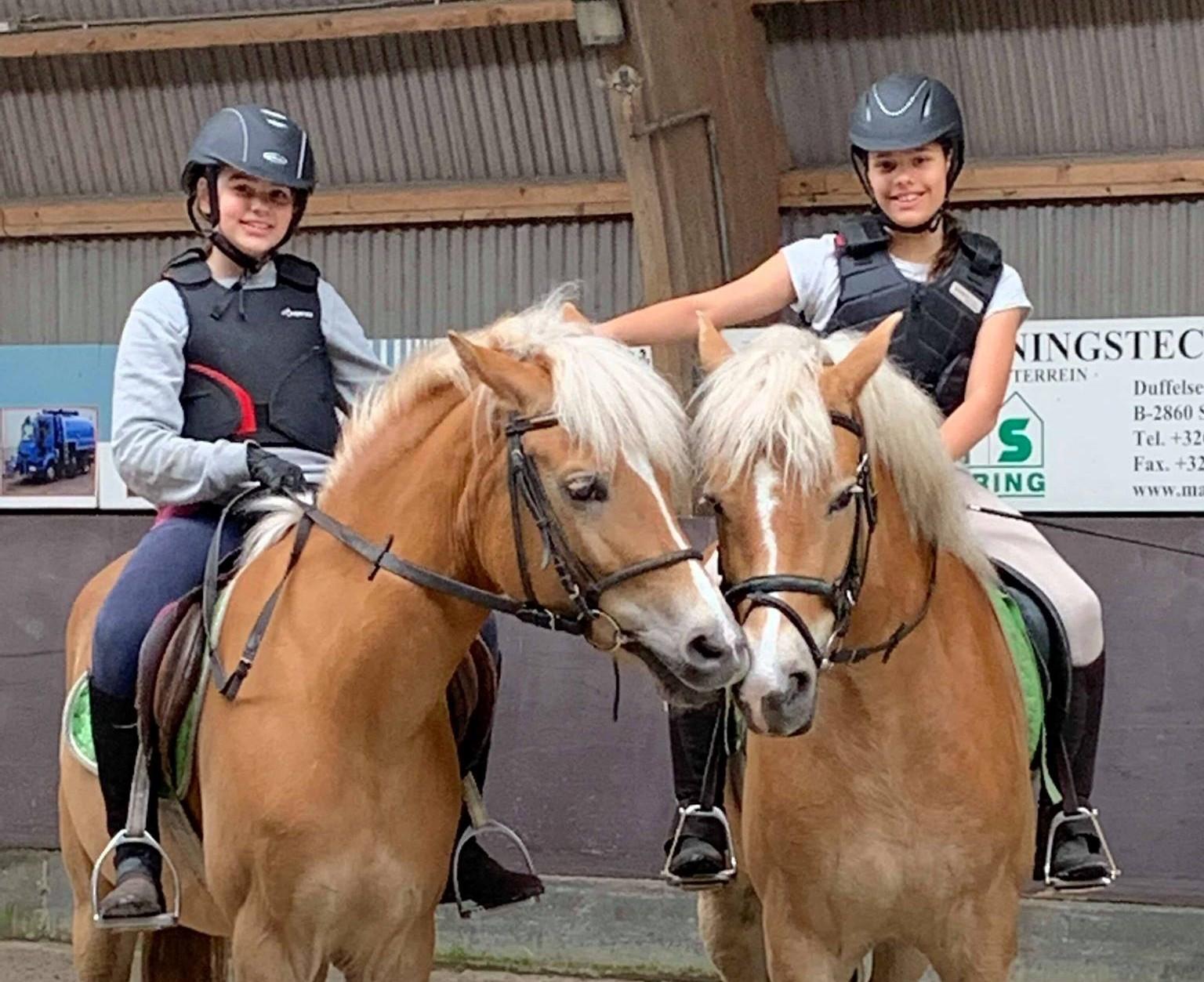 [2022] Paardrijden in Belgisch-Limburg - Pasen - Grote Brogel